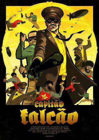 Cartaz Capitão Falcão
